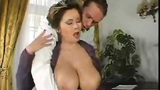 Anal, Ass licking, Big Ass, Big Boobs, Blowjob, Creampie, Cumshot, Mature, Stockings
