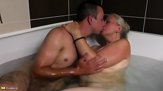 Grannies, Hairy, Mature, MILF, Old and young, Shaved, Stepmom, Teen