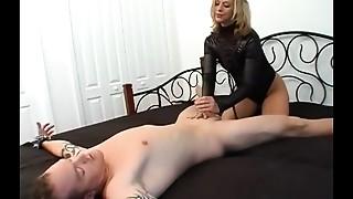 BDSM, Cumshot, Femdom, Handjob