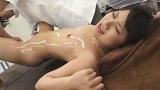Asian,Massage,Oiled,Orgasm