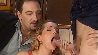 Anal, Big Ass, Cumshot, Group Sex, Stockings, Vintage