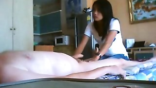 Asian, Blowjob, Massage