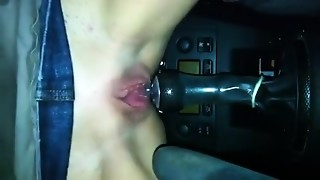 Car Sex, Fetish, Masturbation, Sex Toys