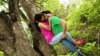 Couple, Indian, Outdoor, School, Softcore