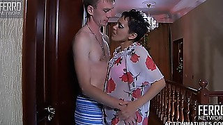 Blowjob, Cumshot, Fucking, Masturbation, Mature, MILF, Old and young, Russian, Stepmom