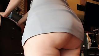 Babe, BBW, Big Ass, Dress, Upskirt