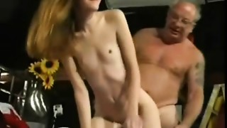 Daddy, Grannies, Old and young, Petite, Slut, Small Tits, Teen