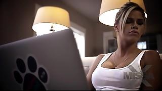 Ass licking, Big Ass, Big Boobs, Big Cock, Blonde, Blowjob, Cumshot, Handjob, Orgasm, Sister