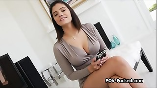Amateur, Beautiful, Big Boobs, Blowjob, Fucking, Homemade, Latina, Money, POV, Teen