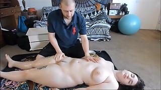 Anal, Big Ass, Big Boobs, Close-up, Creampie, Fingering, Fucking, Massage, Oiled, Orgasm