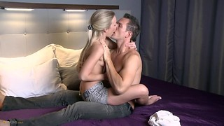 Ass licking, Blonde, Creampie, Czech, Orgasm, Petite, Reality, Small Tits
