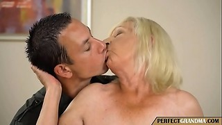 Big Boobs, Blonde, Blowjob, Chubby, Grannies, MILF, Old and young, Teen