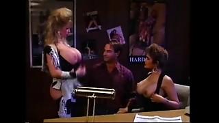 Big Ass, Big Boobs, CFNM, Lingerie, Office, Pornstar, School, Strip, Threesome, Vintage