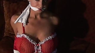 BDSM, Big Boobs, Fetish, Gagging, Lingerie, Stockings