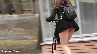 Big Ass, Extreme, Flashing, High Heels, Panties, Pantyhose, Public Nudity, Russian, Upskirt, Voyeur