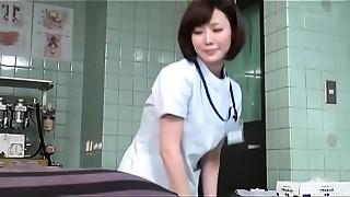 Asian, CFNM, Doctor, Fetish, Handjob, MILF, Shy, Softcore, Uniform
