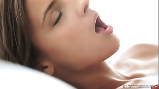 Babe, Beautiful, Brunette, Lingerie, Masturbation, Natural, Orgasm, Sex Toys, Shaved, Small Tits