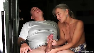 Big Cock, Couple, Handjob, Mature, MILF