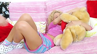 Anal, Blonde, Fingering, Girlfriend, Petite, Sex Toys, Small Tits, Teen