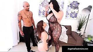 Ass licking, BBW, BDSM, Big Ass, Big Boobs, Blowjob, Casting, Latina, Threesome