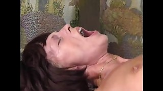 Anal, Brunette, Fisting, Fucking, Mature, MILF, Old and young, Stepmom, Teen