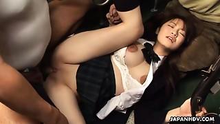 Asian, BDSM, Big Boobs, Bus, Fucking, School, Teen