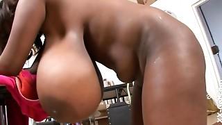 Big Boobs, Black and Ebony