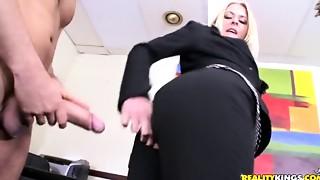 Anal, Big Boobs, Big Cock, Blowjob, Cumshot, Group Sex, Hairy, Fucking, Secretary