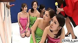 Asian, CFNM, Fetish, Handjob, MILF