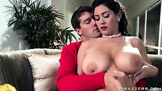 Big Ass, Big Boobs, Big Cock, Blowjob, Brunette, Latina, MILF, Natural, Seduced